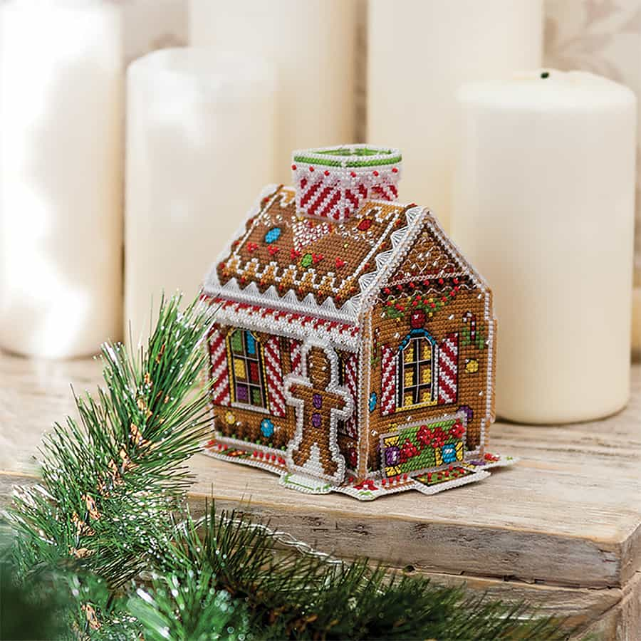gingerbread house borduurpakket