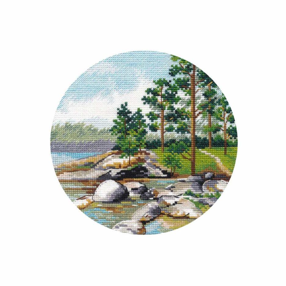 landschap borduurpakket