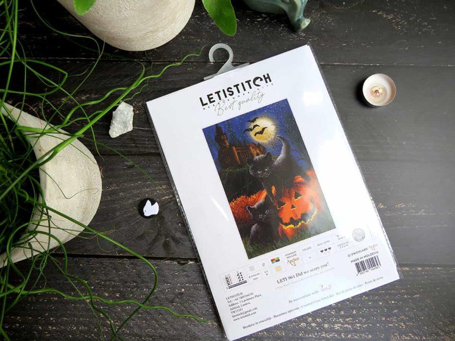 Letistitch borduurpakket halloween