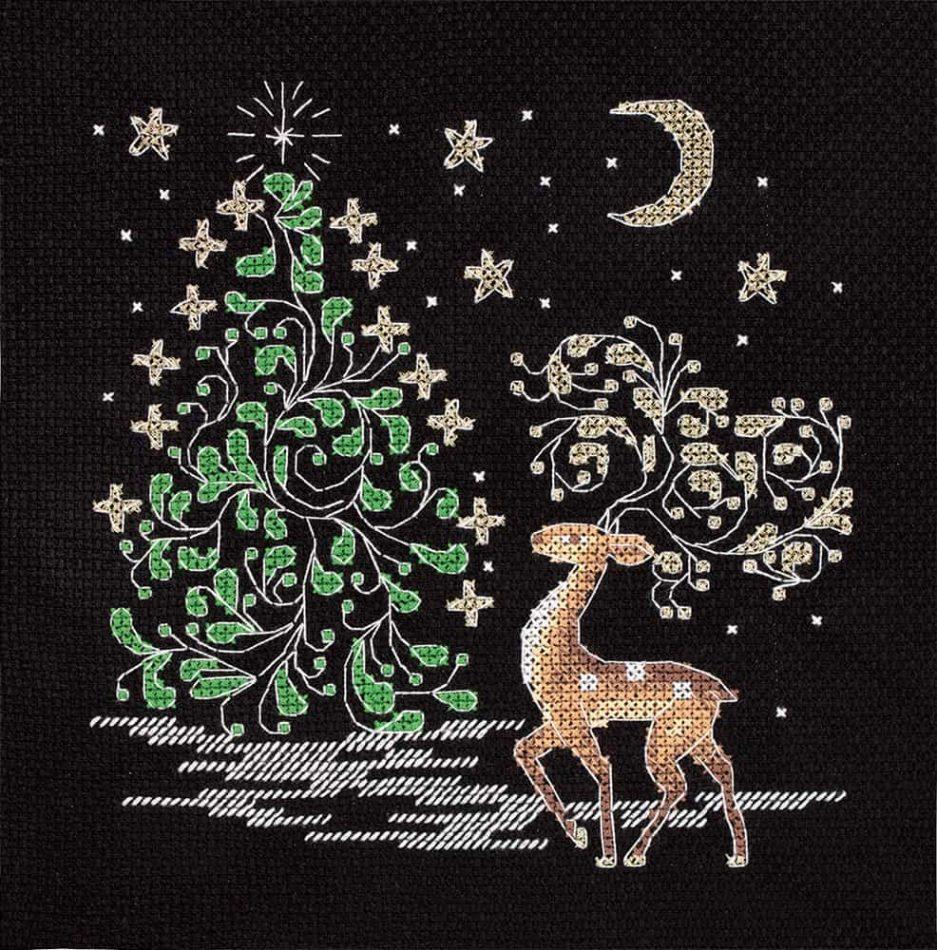 Makkelijk borduurpakket kerstmis