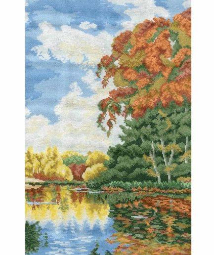 Herfst landschap borduurpakket