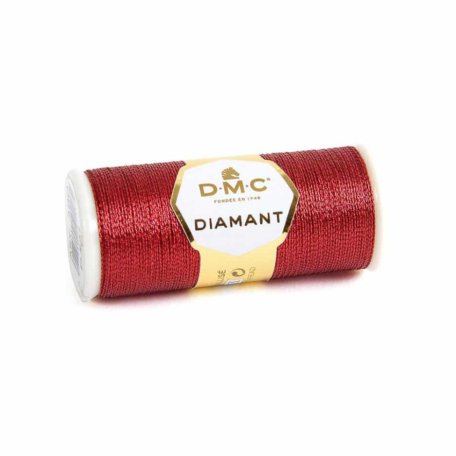 DMC Diamant rood D321