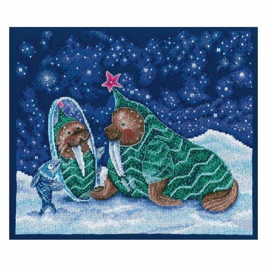 RTO borduurpakket kerst schattig