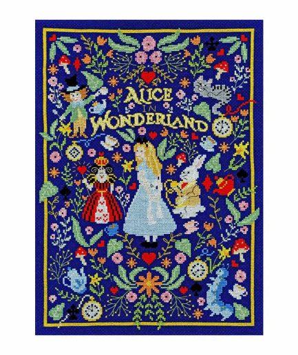 Alice in wonderland - Bothy Threads borduurpakket