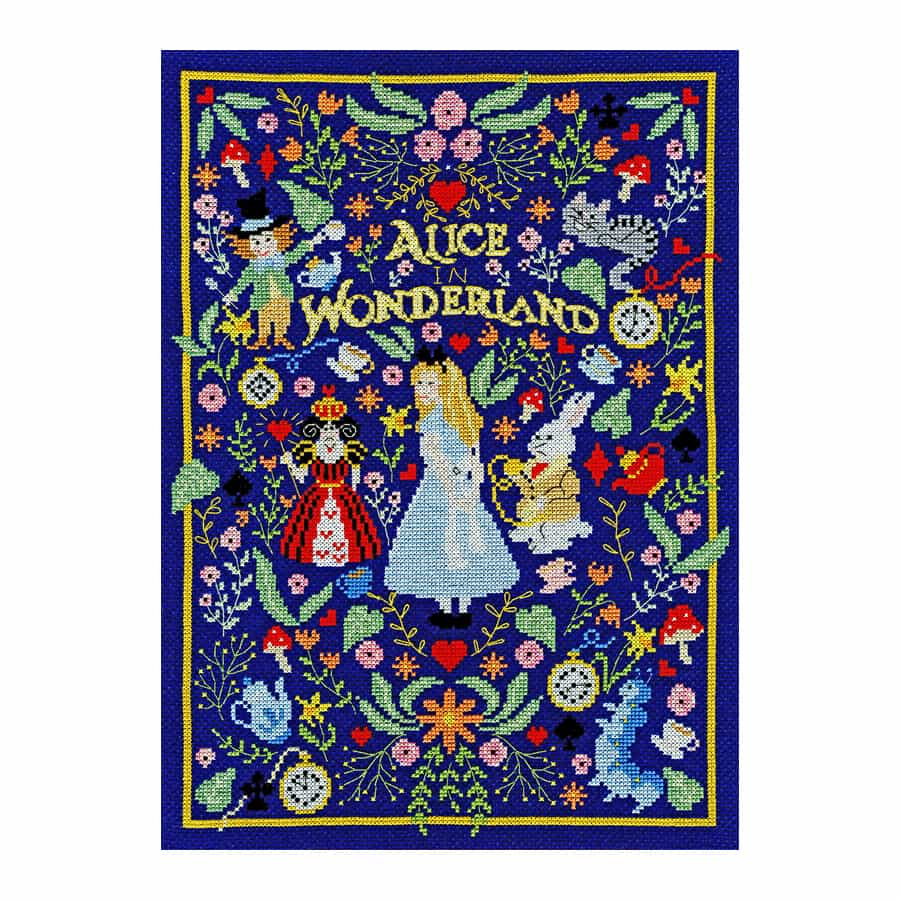 Alice in wonderland - Bothy Threads borduurpakket