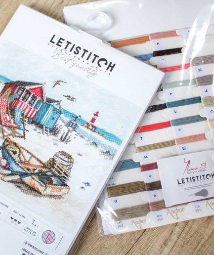 LetiStitch Borduurpakket strand