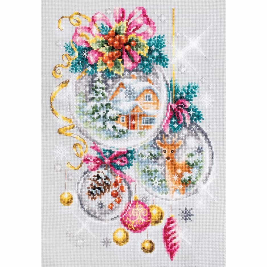 Kerst borduurpakket: A Christmas Fairy Tale