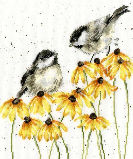 Bothy Threads chatter chatter vogels borduurpakket