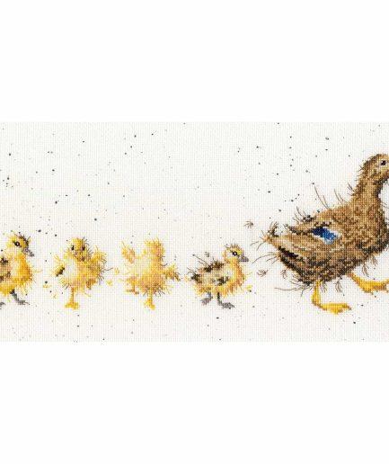 Bothy Threads borduurpakket Mother Duck