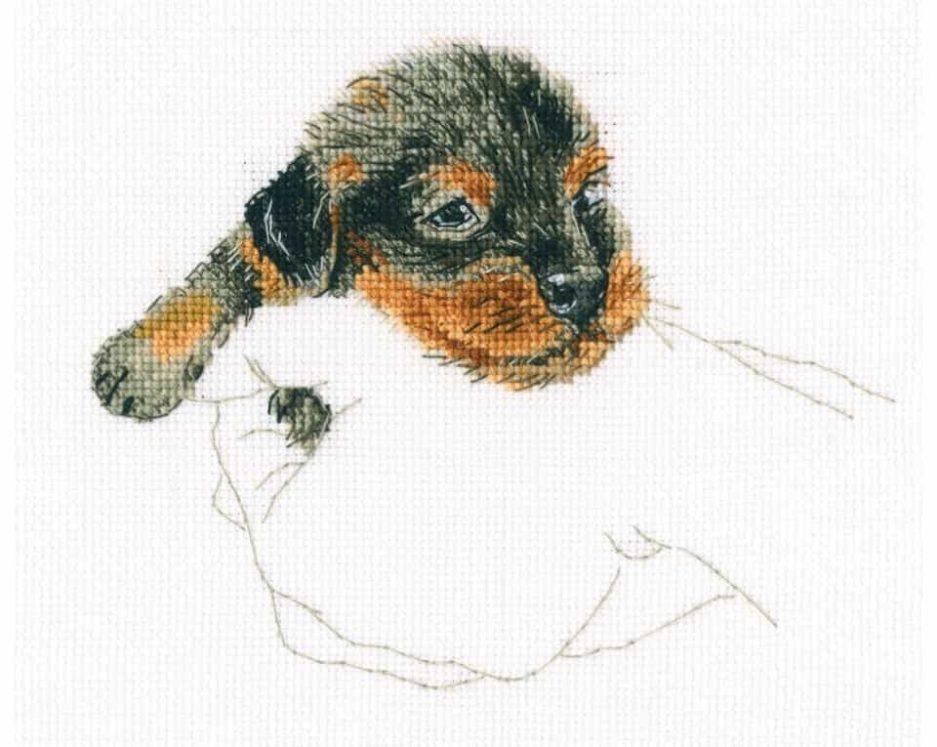 puppy borduurpakket