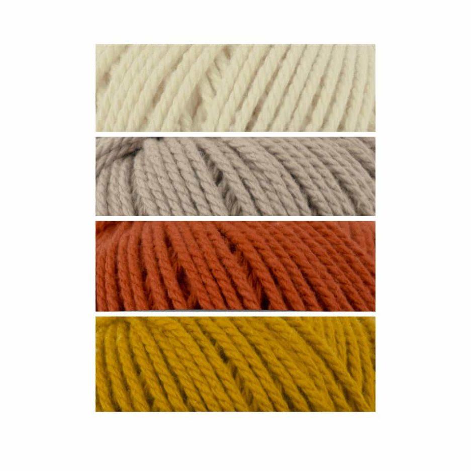 Kleuren durable dun macrame garen