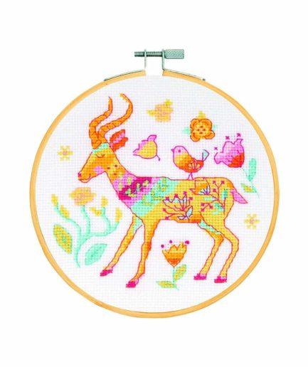 DMC borduurpakket: antilope