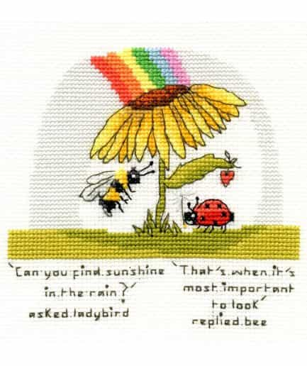 Bothy Threads borduurpakket finding sunshine