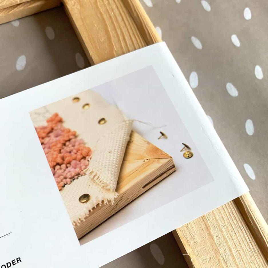 houten frame punaises