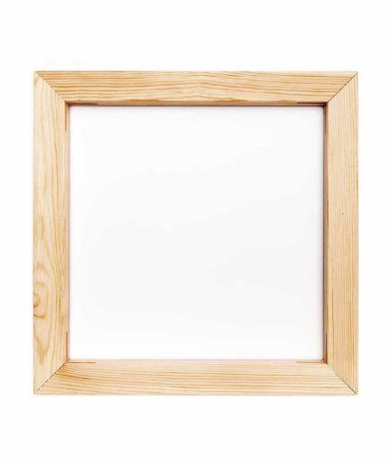 Houten frame voor punchen