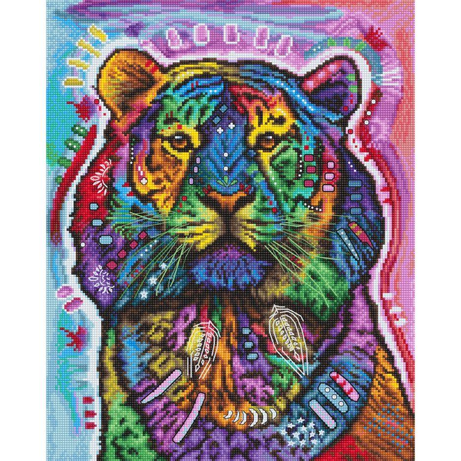 tijger dean russo borduurpakket
