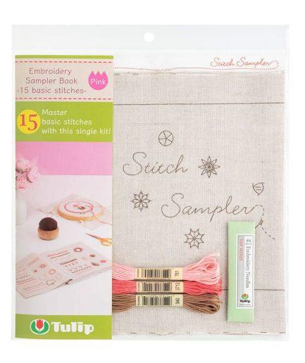 Tulip sampler book