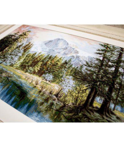 Berglandschap borduurpakket