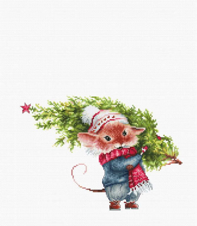 kerstmis borduurpakket bestellen (1)
