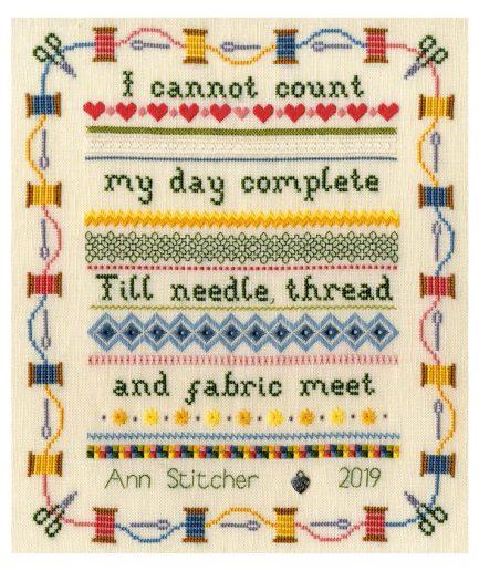 Bothy Threads Stitching Sampler bestellen bij Iris Borduurt